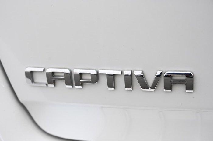 2013 Holden Captiva 7 LX CG Series II MY12 AWD White