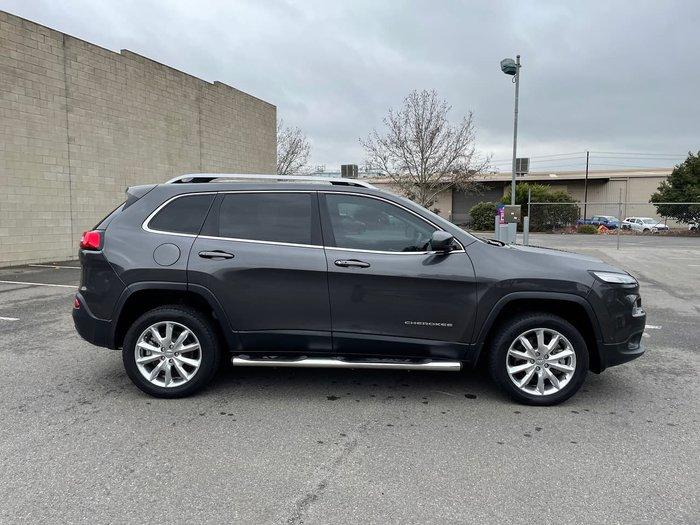 2015 Jeep Cherokee Limited KL MY15 4X4 Dual Range Grey