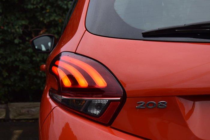 2015 Peugeot 208 Allure A9 MY15 Orange