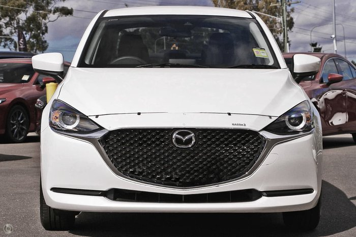 2021 Mazda 2 G15 Pure DL Series Snowflake White Pearl