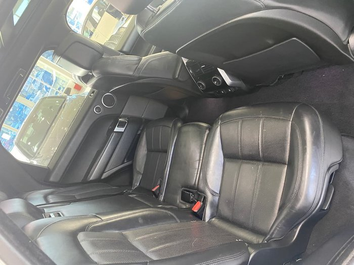 2018 Land Rover Range Rover Sport SDV6 HSE Dynamic L494 MY18 4X4 Dual Range White
