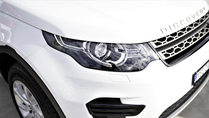 2017 Land Rover Discovery Sport TD4 110kW SE L550 MY18 4X4 Constant Fuji White