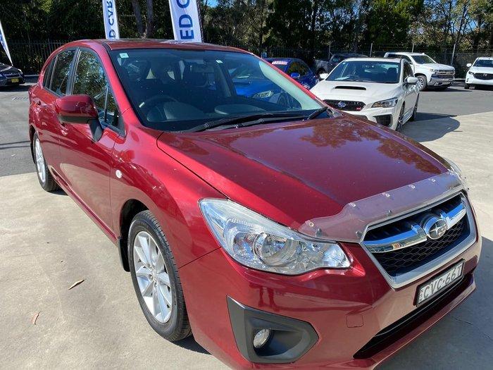 2014 Subaru Impreza 2.0i-L G4 MY14 AWD Red