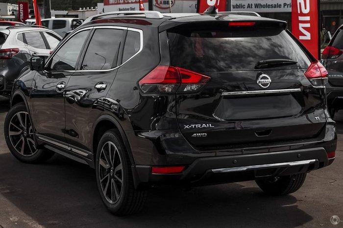 2021 Nissan X-TRAIL Ti T32 MY21 4X4 On Demand Black