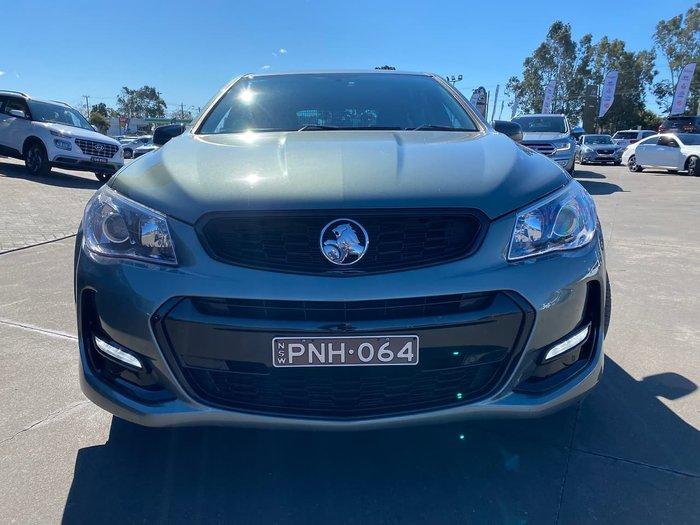 2016 Holden Commodore SV6 Black VF Series II MY16 Grey
