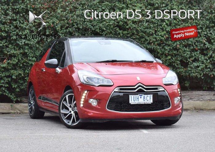 2015 Citroen DS3 DSport MY15 Red