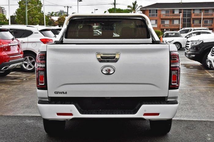 2021 GWM Ute Cannon-L NPW 4X4 Drive Type: Pure White