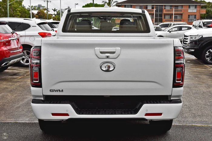 2021 GWM Ute Cannon NPW 4X4 Drive Type: Pure White