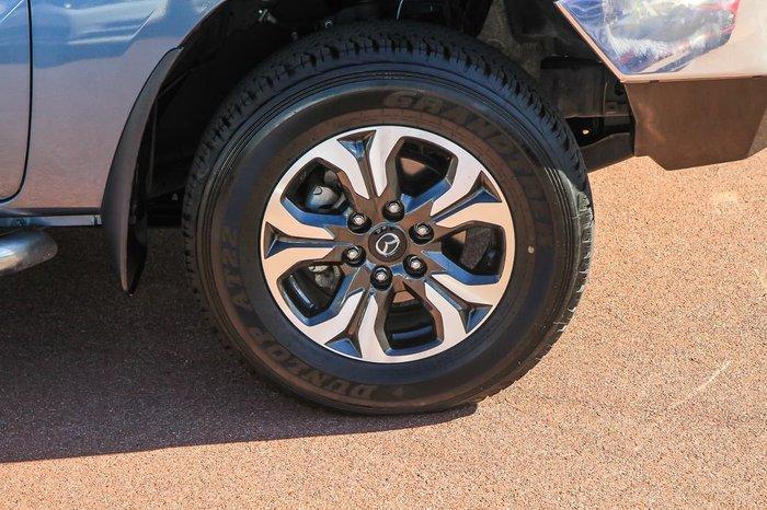 2018 Mazda BT-50 XTR UR 4X4 Dual Range Blue