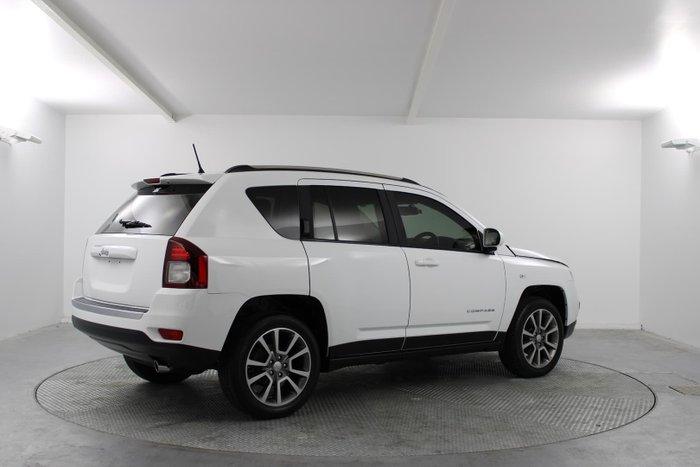 2014 Jeep Compass Limited MK MY14 Four Wheel Drive Bright White