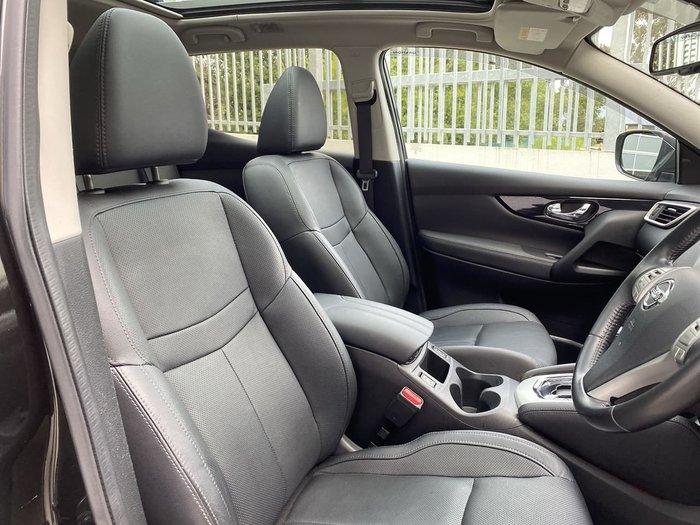 2015 Nissan QASHQAI Ti J11 Black