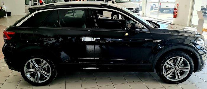 2021 Volkswagen T-Roc 140TSI Sport A1 MY21 Four Wheel Drive Black