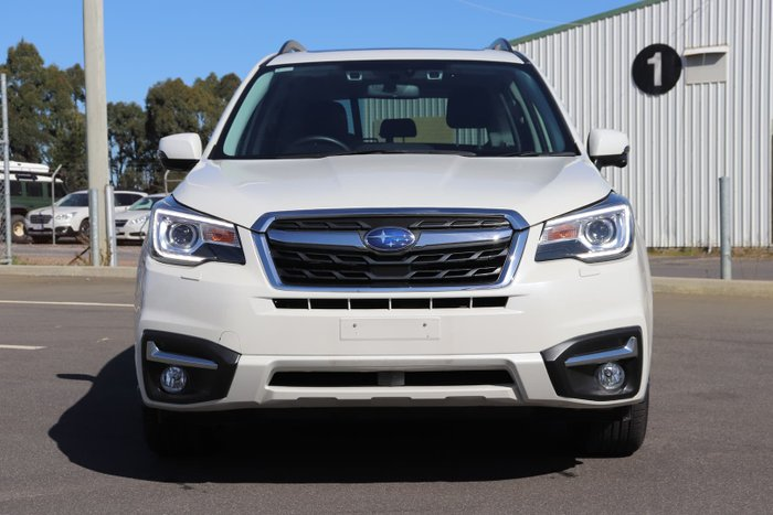 2017 Subaru Forester 2.5i-S S4 MY18 AWD Crystal White