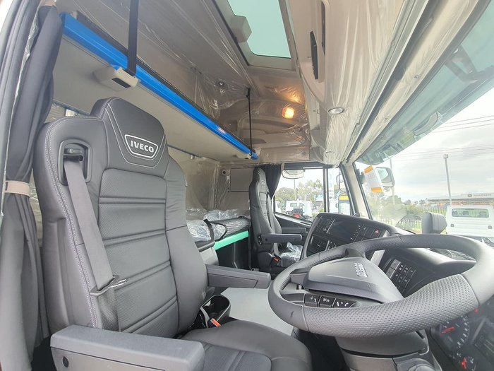 2021 IVECO HIGHWAY AS550 B DOUBLE White