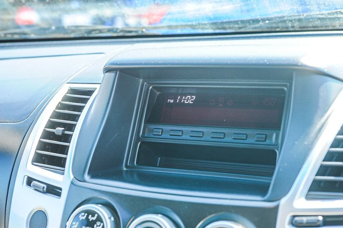 2012 Mitsubishi Challenger LS PB MY12 4X4 Dual Range White