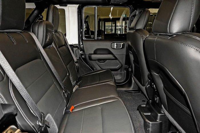 2021 Jeep Wrangler Unlimited 80th Anniversary JL MY21 4X4 Dual Range Black