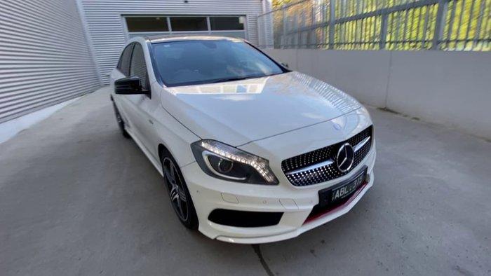 2014 Mercedes-Benz A-Class A250 Sport W176 White