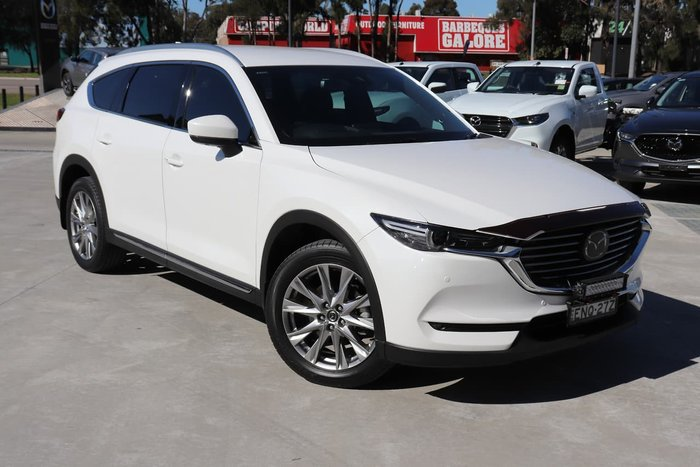2018 Mazda CX-8 Asaki KG Series AWD White