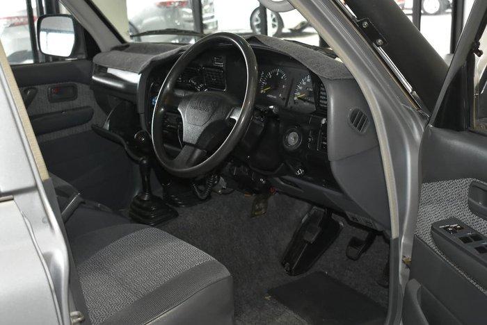 1995 TOYOTA LANDCRUISER GXL HZJ80R Silver