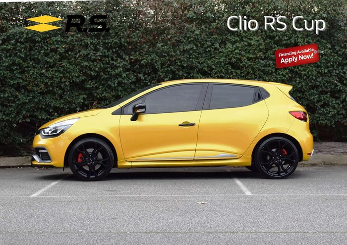 2016 Renault Clio R.S. 200 Cup IV B98 Yellow