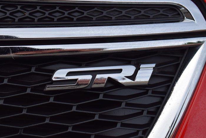 2012 Holden Cruze SRi JH Series II MY12 Red