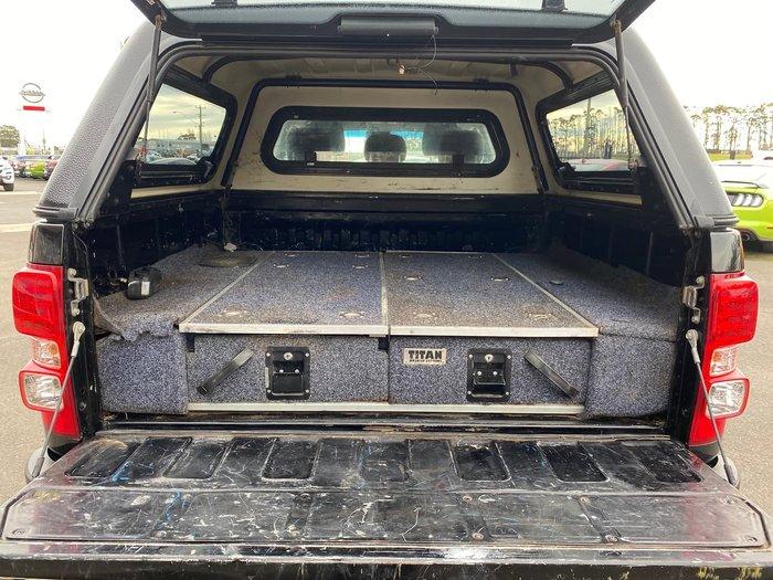 2016 Holden Colorado LTZ RG MY17 4X4 Dual Range Black