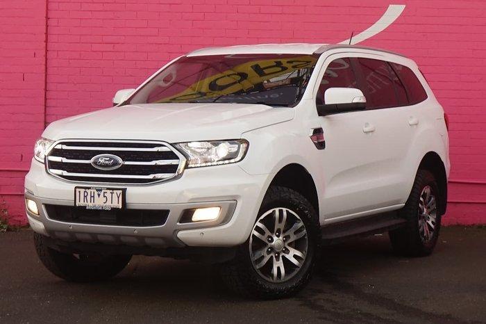 2019 Ford Everest Trend UA II MY19 4X4 Dual Range White