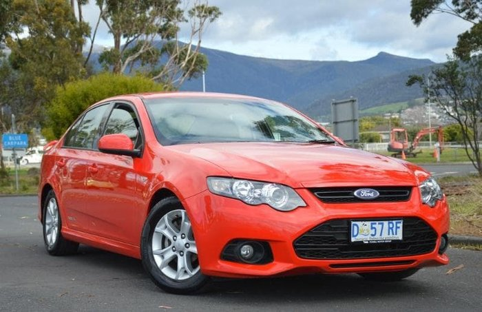2012 Ford Falcon XR6 FG MkII Red