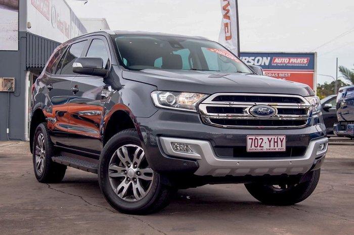 2017 Ford Everest Trend UA Grey