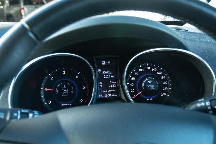 2013 Hyundai Santa Fe Elite DM MY13 4X4 On Demand Blue