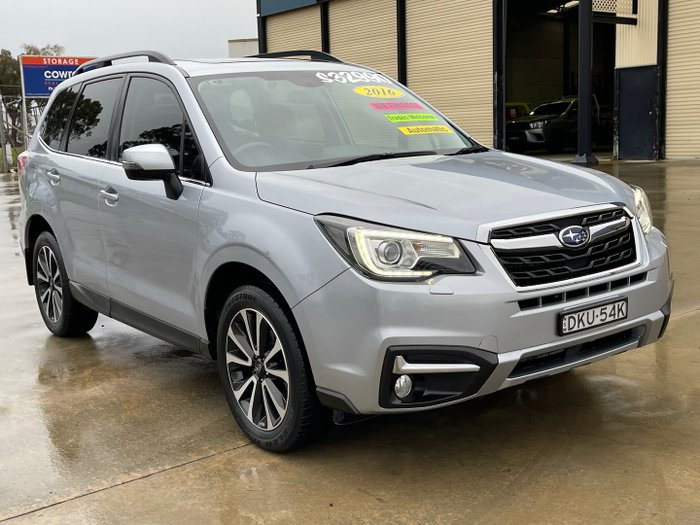 2016 Subaru Forester 2.5i-S S4 MY16 AWD Ice Silver