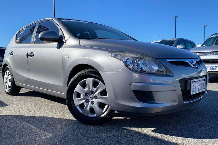 2012 Hyundai i30 SX FD MY11 Silver