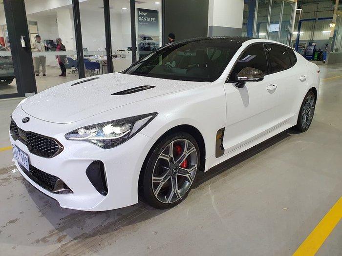 2019 Kia Stinger GT CK MY19 White
