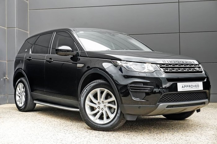 2017 Land Rover Discovery Sport TD4 110kW SE L550 MY18 4X4 Constant Black