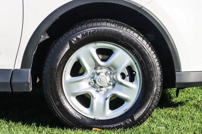 2016 Toyota RAV4 GX ALA49R AWD White