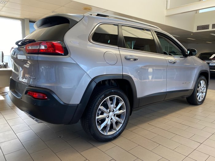 2017 Jeep Cherokee Limited KL MY18 4X4 On Demand Billet Silver