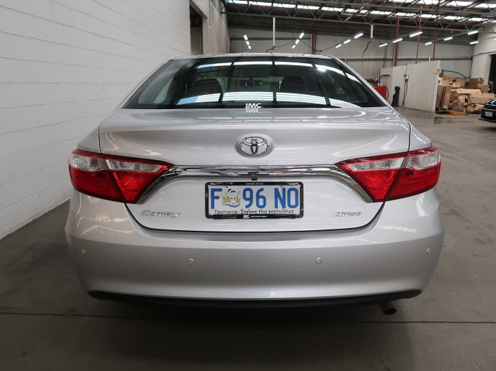 2016 Toyota Camry Altise ASV50R Silver Pearl