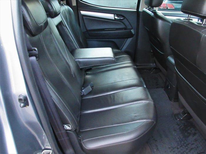 2017 Holden Colorado Z71 RG MY17 4X4 Dual Range Grey
