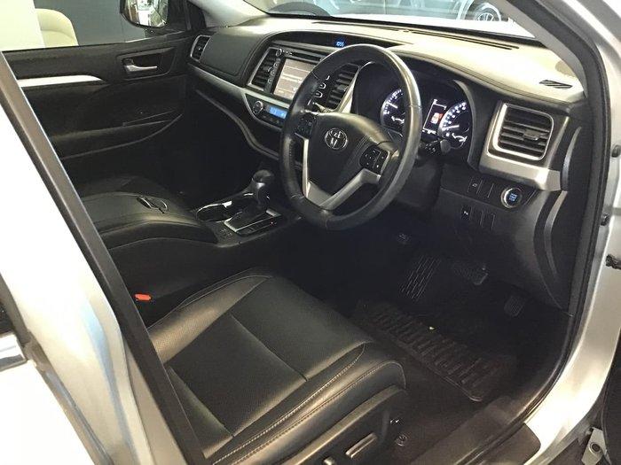 2017 Toyota Kluger GXL GSU50R Silver
