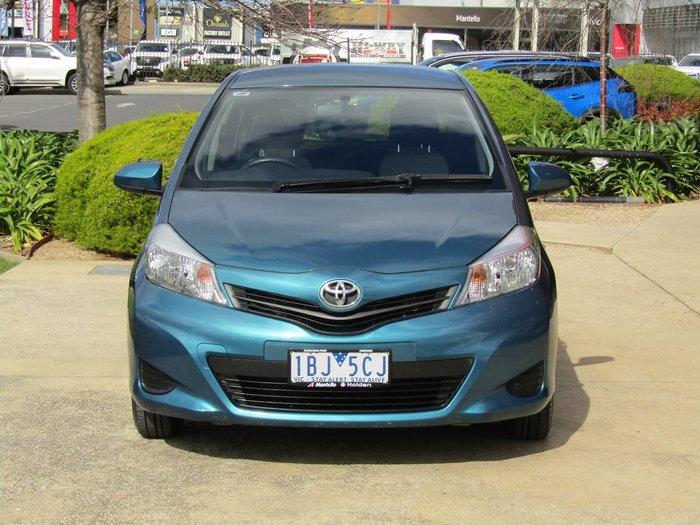 2014 Toyota Yaris YR NCP130R Blue