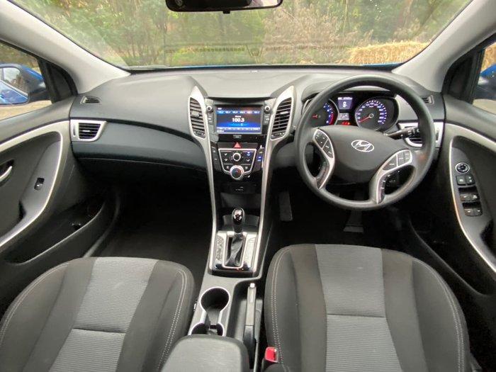2016 Hyundai i30 Active GD4 Series II MY17 Blue