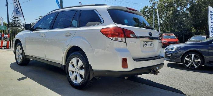 2010 Subaru Outback 2.5i Premium 4GEN MY11 AWD White