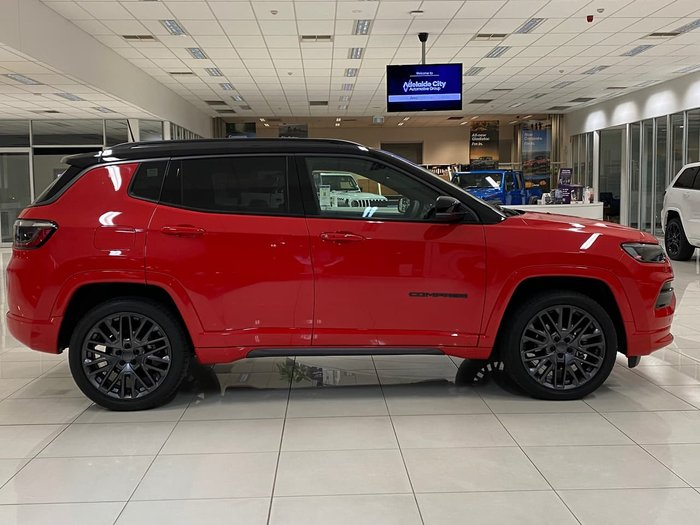 2021 Jeep Compass S-Limited M6 MY21 4X4 On Demand Red