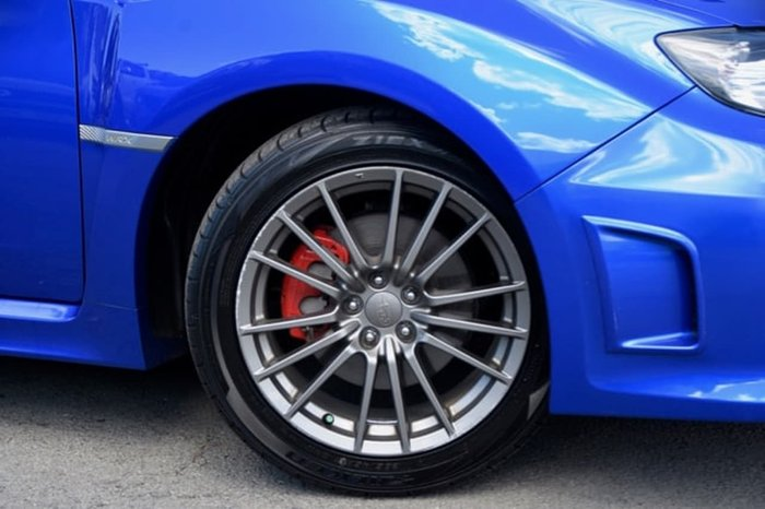 2013 Subaru Impreza WRX G3 MY13 AWD Blue