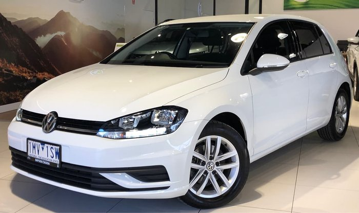 2018 Volkswagen Golf 110TSI 7.5 MY18 White