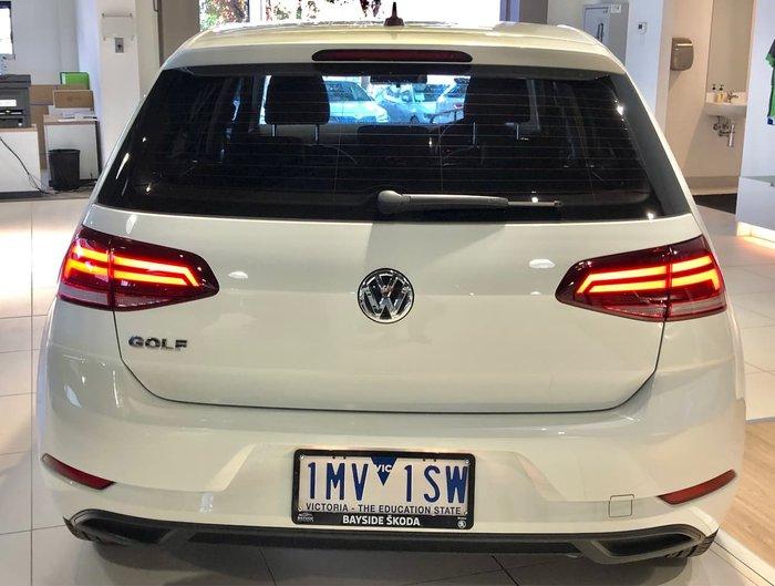 2018 VOLKSWAGEN GOLF 110TSI 7.5 White