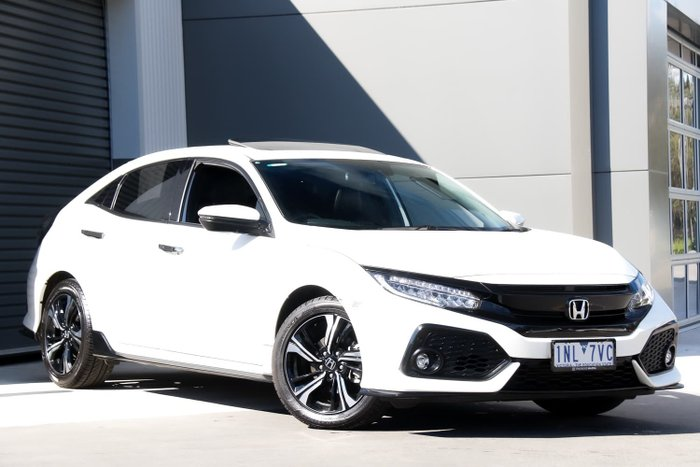 2018 Honda Civic RS 10th Gen MY18 White Orchid