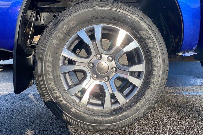 2014 Ford Ranger XLS PX 4X4 Dual Range Blue