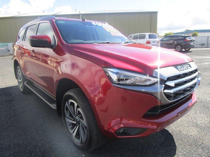 2021 ISUZU MU-X LS-T (No Series) Red