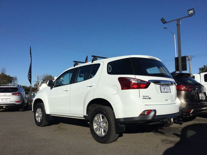 2015 Isuzu MU-X LS-M MY15 4X4 Dual Range White